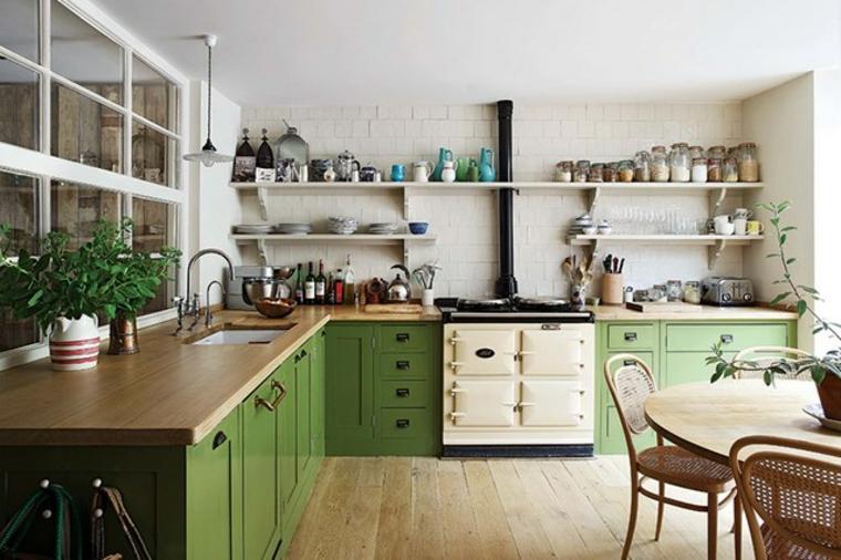 Diseños de cocinas rusticas